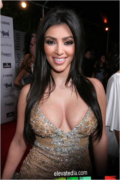 Remembering Kim Kardashian's Whore Cleavage