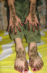 Mehnaz Bridal Mehndi Tops and Feet