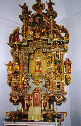 Maria Rickenbach Shrine Altar