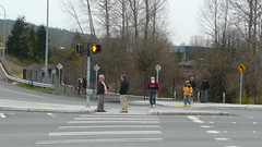 Walkers on High Point connector