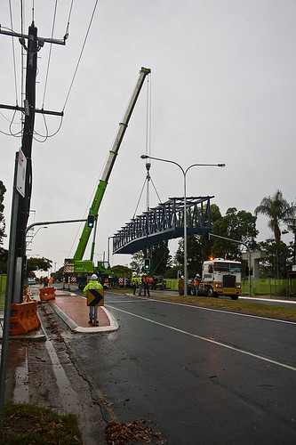 The Girder arrives 7