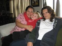 Michele, Liele & Lisa. (11/24/2007)