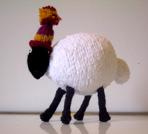 4th sheep side view