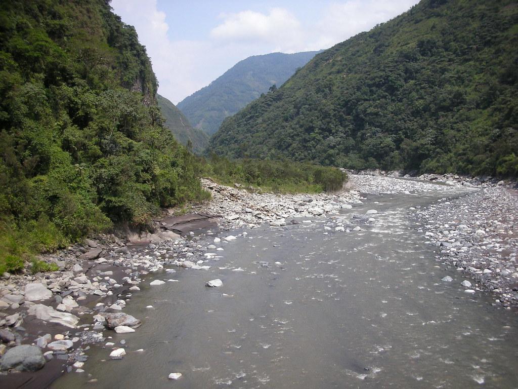 A river by Baños