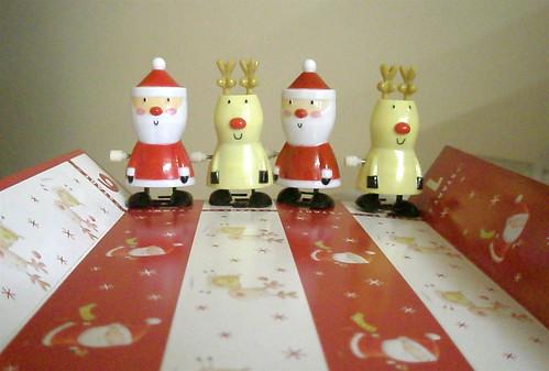 Santa and Reindeer Race