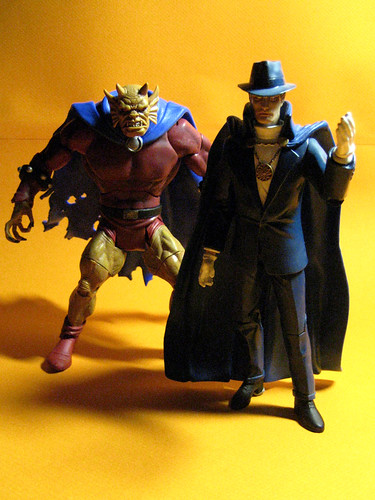 Phantom Stranger and Etrigan