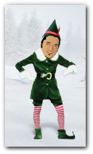 Christmas cachondo de elfa personalizable ceslava 0