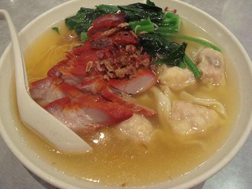 BBQ Pork & Wanton Noodles