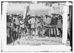 Mexico - Oroszco [i.e., Orozco] proclaimed head of revolution  (LOC) (The Library of Congress) Tags: blackandwhite bw blancoynegro cowboys mxico mexico noiretblanc mexique sw libraryofcongress 1910s schwarzweis orozco biancoenero mexiko messico mexicanrevolution revolucionarios meksiko revolucinmexicana georgegranthambaincollection  meksyk   mexik  xmlns:dc=httppurlorgdcelements11 dc:identifier=httphdllocgovlocpnpggbain10293 bainnewsservice jefesupremo fuerzasrevolucionarias pascualorozco