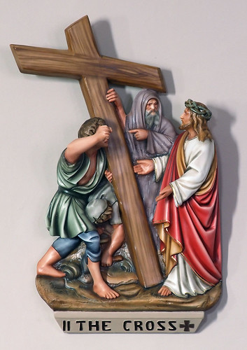 Saint Joseph Roman Catholic Church, in Zell, Missouri, USA - Station of the Cross