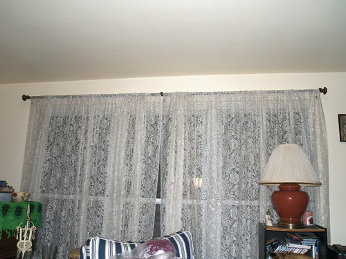 curtain rod and finials