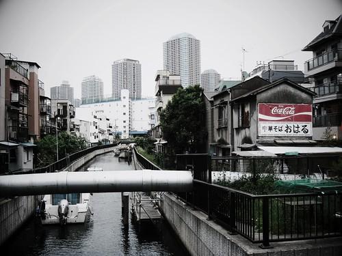 水路のある街