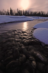 Moon Shine (Wolfhorn) Tags: winter cold ice nature alaska landscape long exposure moonlight betterthangood