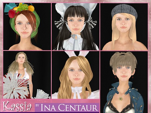 crazytalk kassia model pack