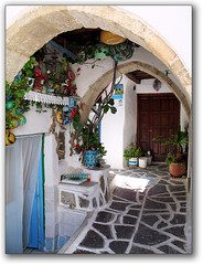Chora, Naxos (Cyclades, Greece) (jesssie) Tags: architecture island aegean culture greece archways greekislands chora cyclades naxos ellas photofaceoffwinner