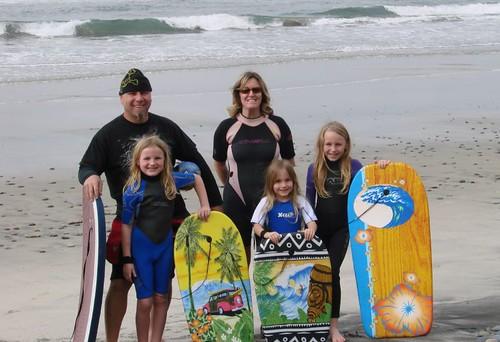 Carlsbad Beach Family Pic