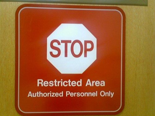 Restricted Area - Alain-Christian - CC BY SA 2.0