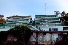Holidays in the sun (O Deibiz) Tags: costa beach buildings edificios asturias playa shore apartamentos gijon xixon asturies estao apartaments