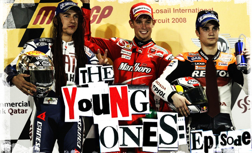 The young Ones in Losail circuit