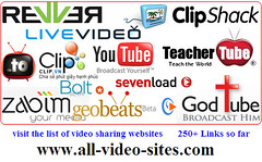 All Video Sites - The List