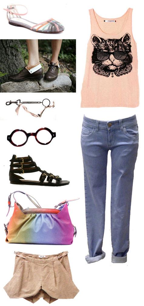 Chloe jeans lanvin keychain sandals edwardian boots