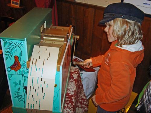 La plus petite organiste