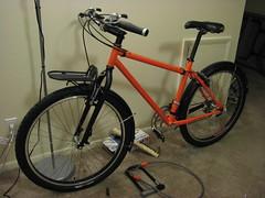 IMG_8881 (ademrudin) Tags: orange black bike 853 reynolds nashbar canonpowershots3is 853steel