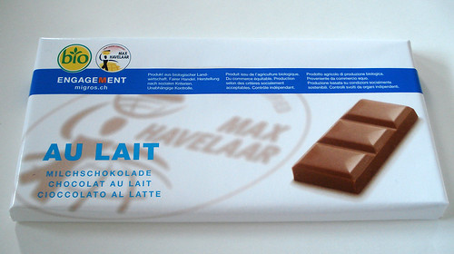 Max Havelar milk chocolate