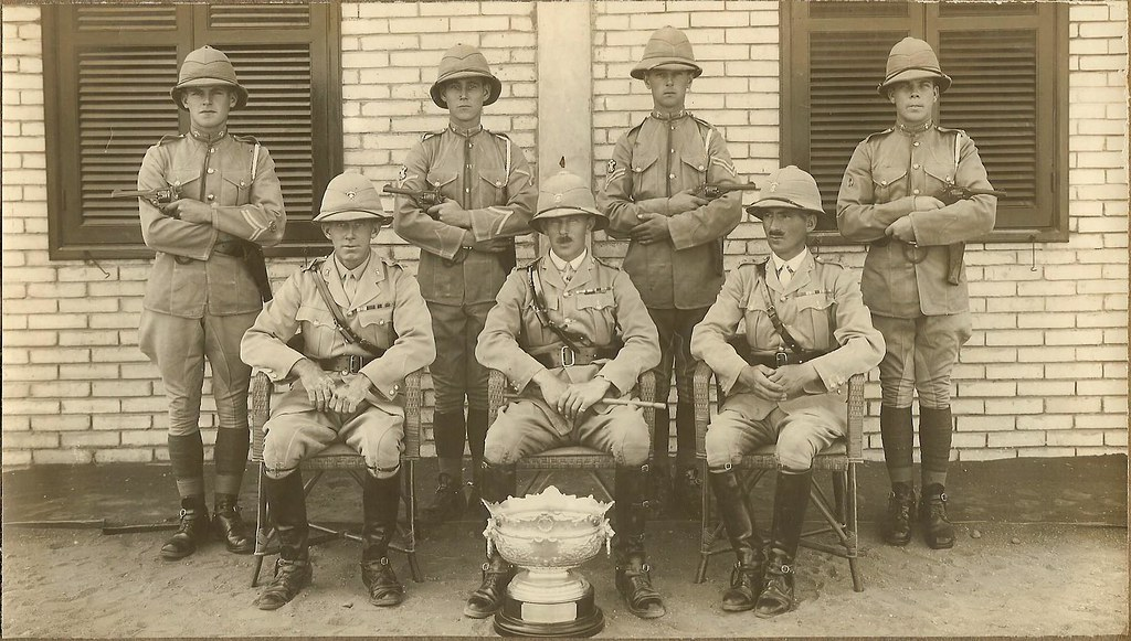 12th Royal Lancers in India with the Duke of Connaught's Cup 1929