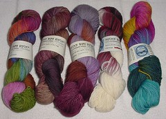 MD Sheep & Wool sock yarn 2008
