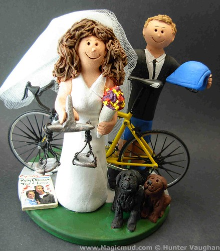 Lawyer Bride Wedding Cake Topper