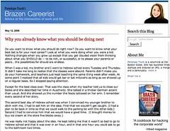 Brazen Careerist blog