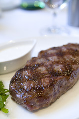 9oz New York Strip, Lark Creek Steak, San Francisco