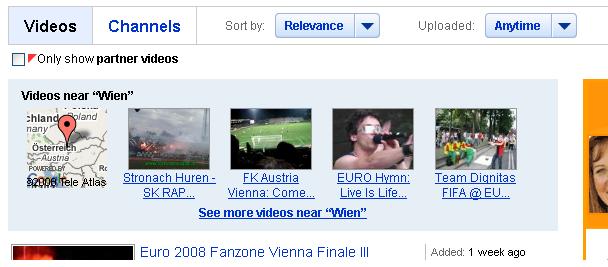 YouTube-Suche Wien