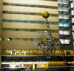 The world's largest pendulum clock