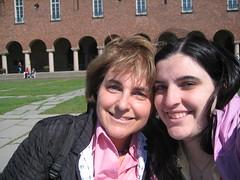 Maman et moi à l'hôtel de ville