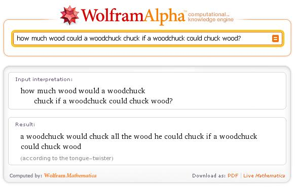 wolfram alpha easter egg4