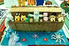 easter show cake decorating (AS500) Tags: show animals cake easter sydney royal decorating ark noahs 2011