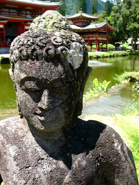 Japanese temple buddha