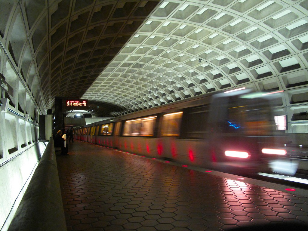 ['Washington DC.', ' subway']