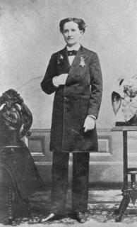Dr. Mary Walker in Trousers, post 1860s. Black and white photo, she is standing facing the camera