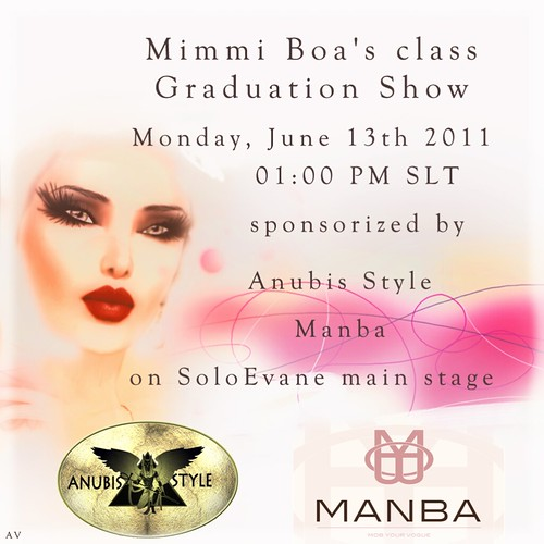 Mimmi Boa Modeling Academy Graduation Monday, June 13th 2011 by Ellendir Khandr