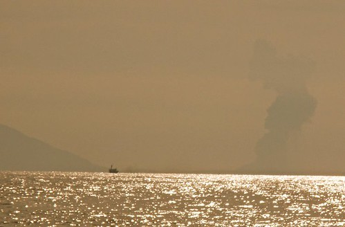 Anak Krakatau Eruption (Chloe's photo)