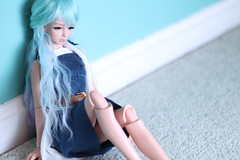 Maya! (miyukisetsu) Tags: light brown doll maya skin tan chloe fairy wig bjd resin aquarius ts lbs leekeworld aquariusdoll