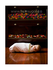 fresh sugar (tvchicklet) Tags: baby candy newborn swaddle freshsugar
