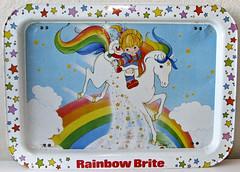 Rainbow Brite TV Tray (sciencensorcery) Tags: 80s eighties rainbowbrite tvtray