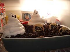 spooky dessert chills