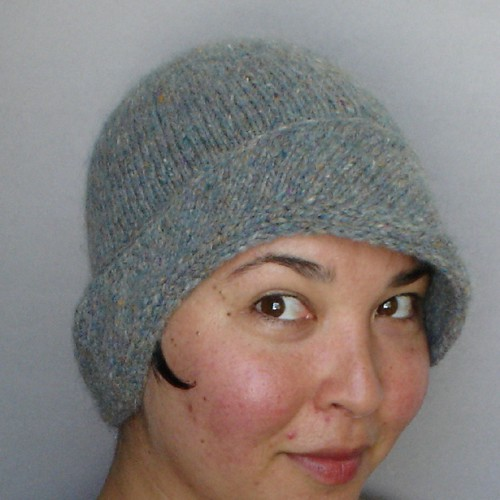 Matilda Tillie Knit Cloche Hat Pattern Mk Carroll