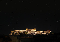 The Eye (Andreas Constantinou ) Tags: night stars hellas athens parthenon explore greece acropolis attiki 35faves ysplix