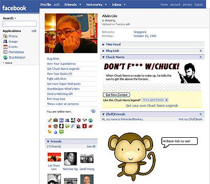 Facebook whore